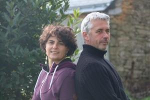 Delphine et Jean-Paul Gabillard, maraîchers bio à Saint-Grégoire