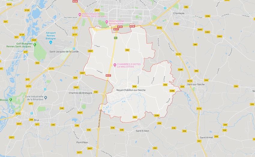 Dépôt de paniers bio à Noyal-Châtillon-sur-Seiche