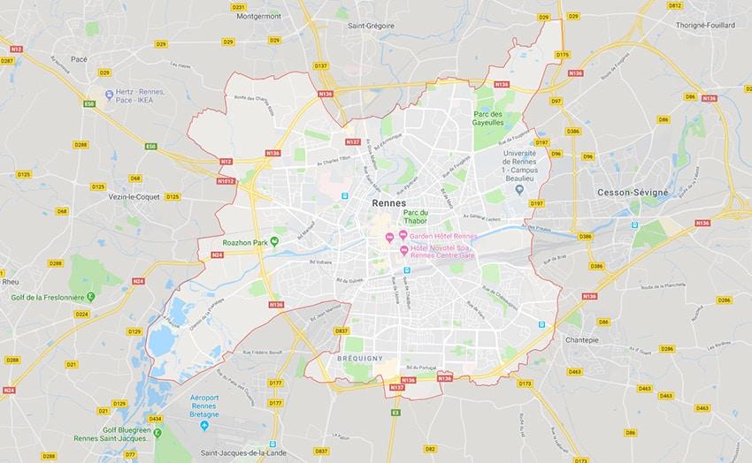 Dépôts de paniers bio à Rennes